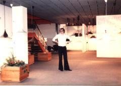 海外視察・デンマーク[1978年]・レイアウトの行き届いたショールーム