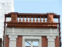 実績紹介・東京駅丸の内駅舎・大屋根装飾のモックアップ